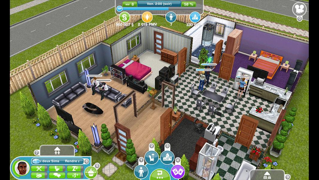 Les sims gratuit sur freebox news sims - Les sims freeplay maison ...