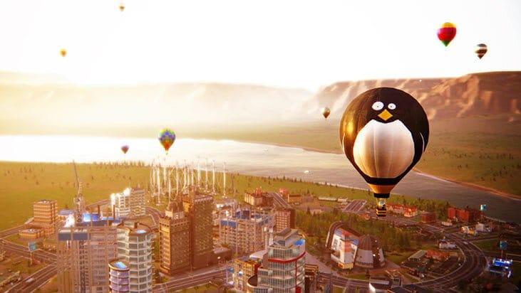 Les montgolfières et les dirigeables dans Simcity ? - SimCity