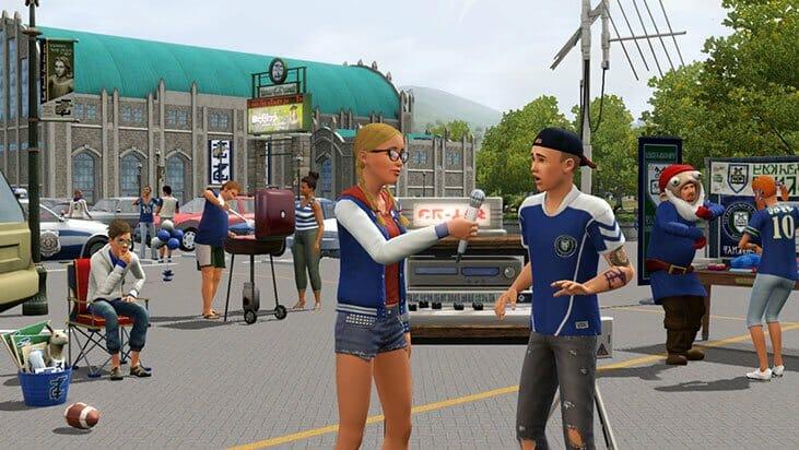 Gérez vos extensions dans Les Sims 3