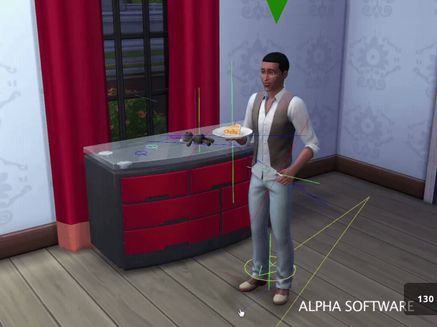 Images version alpha Les Sims 4