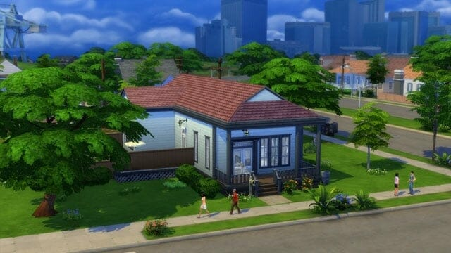 Blog construction Sims 4