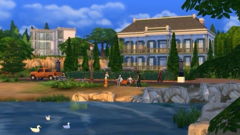 La Galerie arrive sur la version console des Sims 4