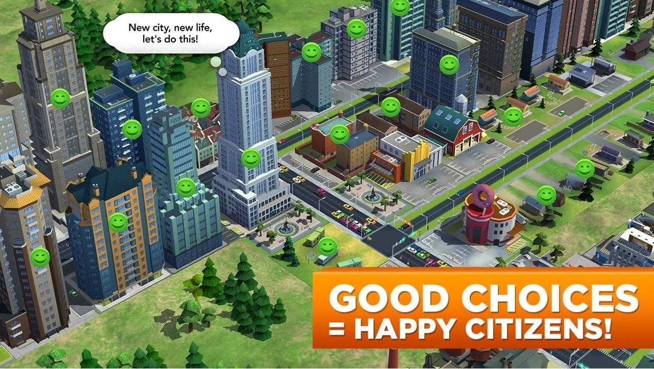 Trailer Simcity BuildIt