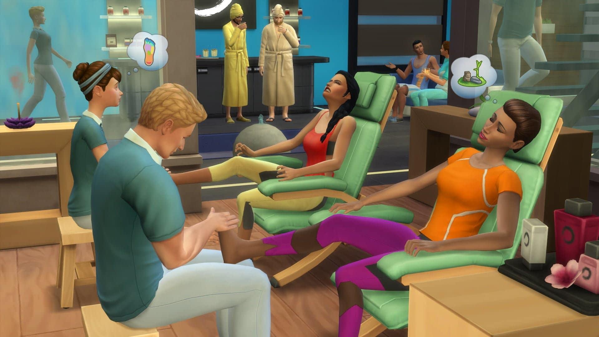 Les Sims 4 Détente au spa annoncés