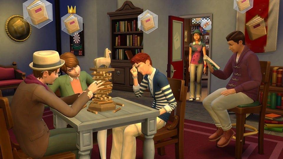 Les Sims 4 Vivre Ensemble reportés