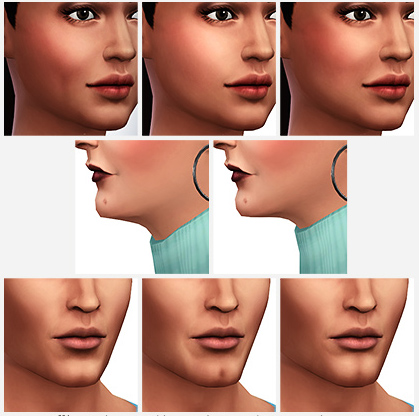 Menton Sims 4