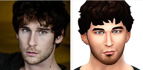 Reproduire visage Sims 4