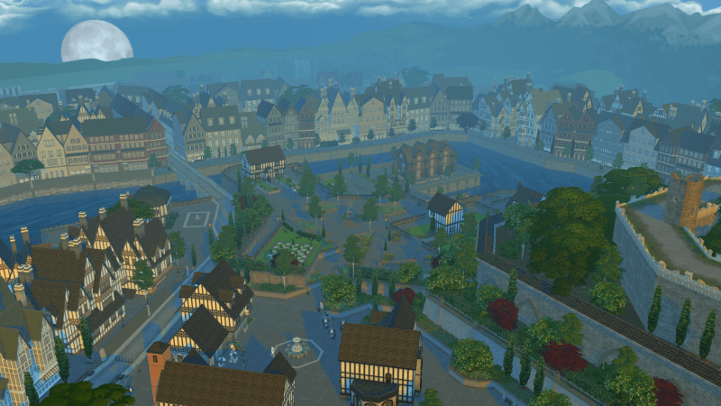 Windenburg sims 4 vivre ensemble