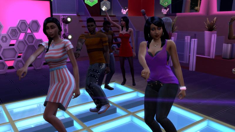 Danse Sims 4 Vivre Ensemble
