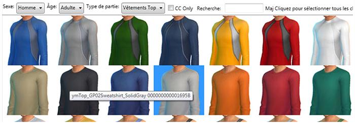 Sims 4 Studio coloris