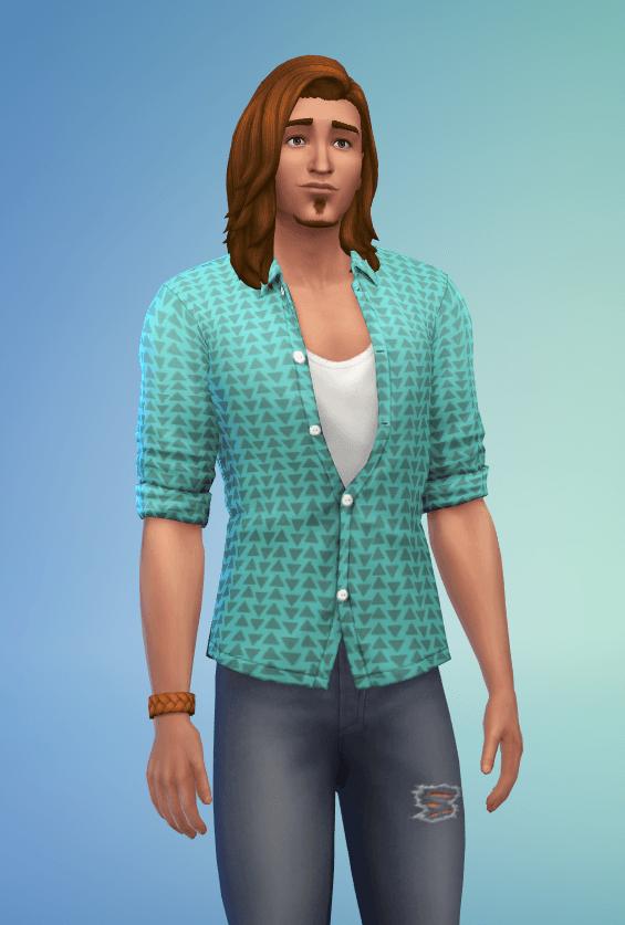 Tenue Sims 4 Comme au cinéma