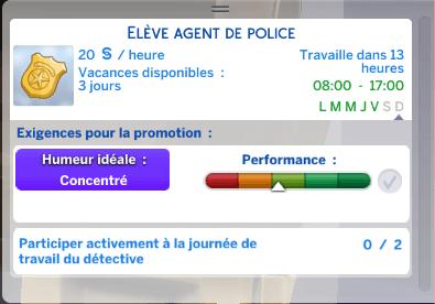 Zoom sur... la carrière policière