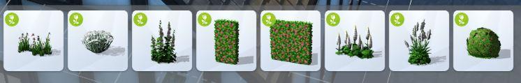 Plantes sims 4 jardin romantique