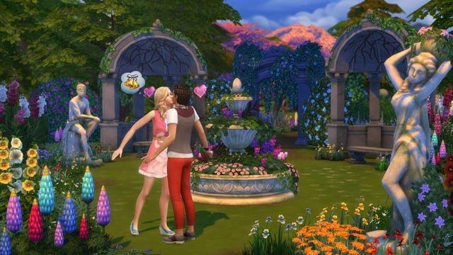 Les Sims 4 Jardin Romantique, un nouveau kit