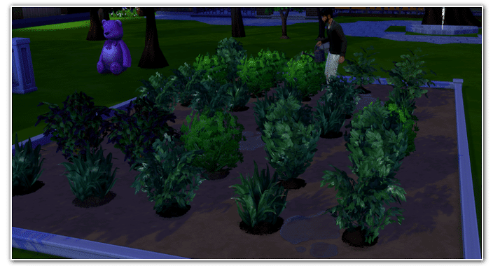 Collections Sims 4 plantes