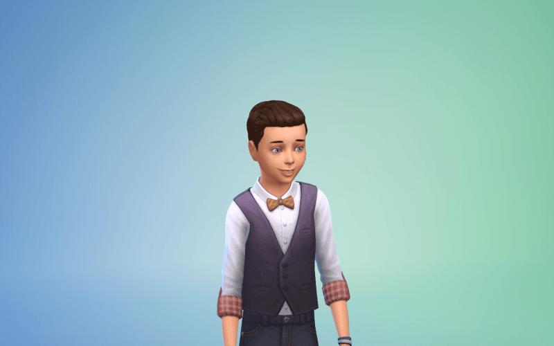 Tenue Sims 4 au restaurant