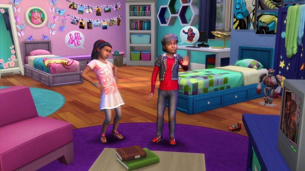 Les Sims 4 Chambre d'Enfants arrivent le 28 Juin