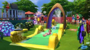 Test Les Sims 4 En Plein Air