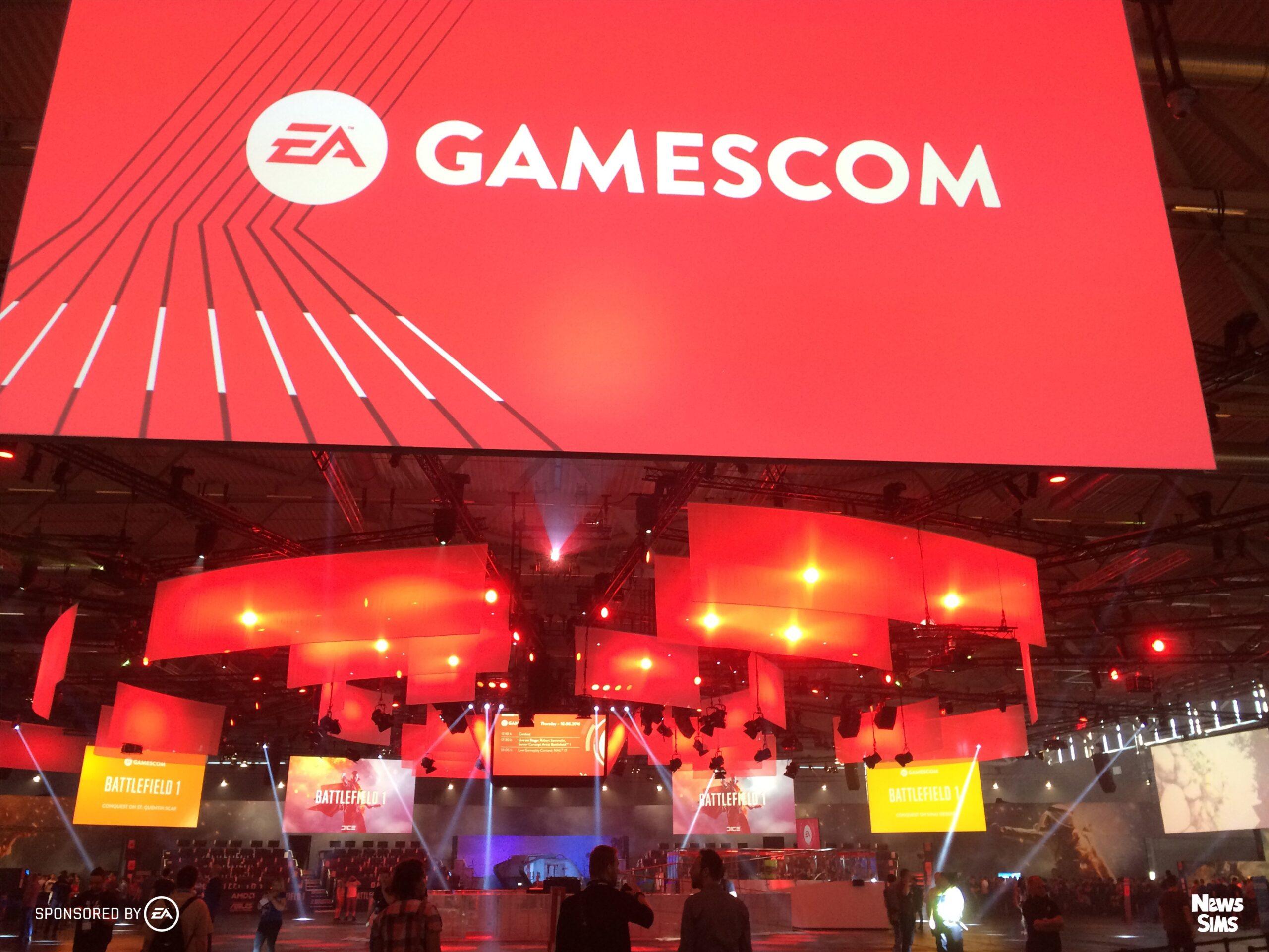 Le News Sims part à la Gamescom