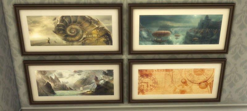 Peintures Steampunk