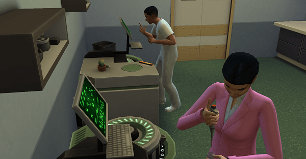 Analyse hôpital Sims 4 Au Travail