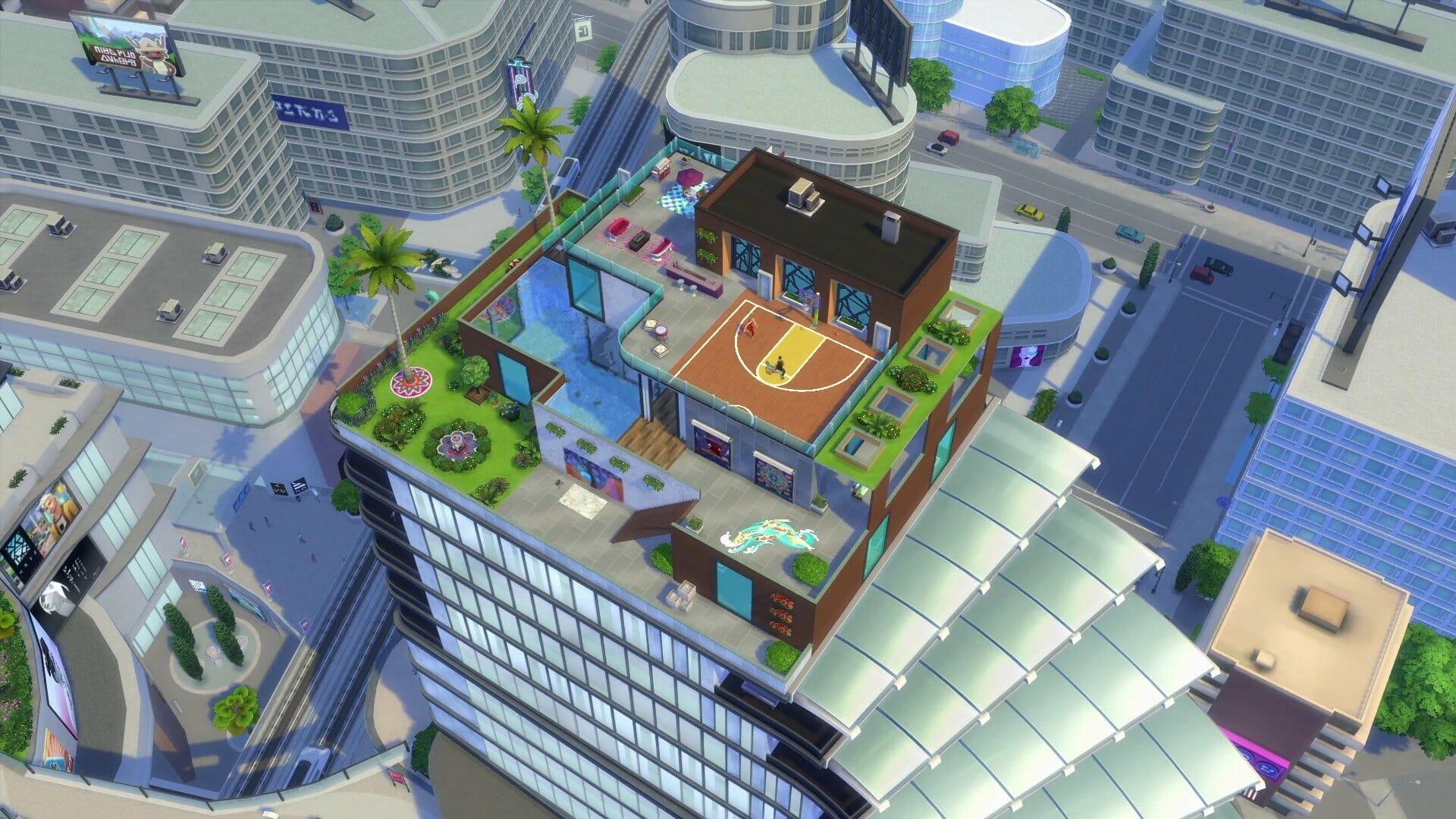 Zoom sur l'aspiration Sim originaire de la ville