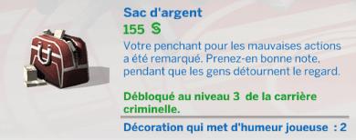 Zoom sur la carrière criminelle