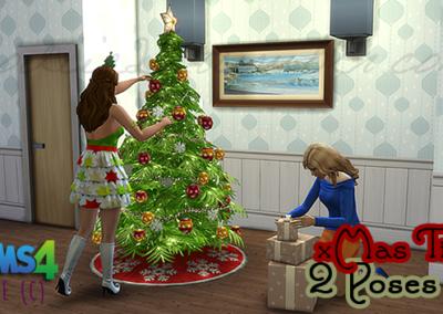 Poses de Noël
