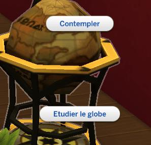 Globe plateau de boissons sims 4 accessoires vintage