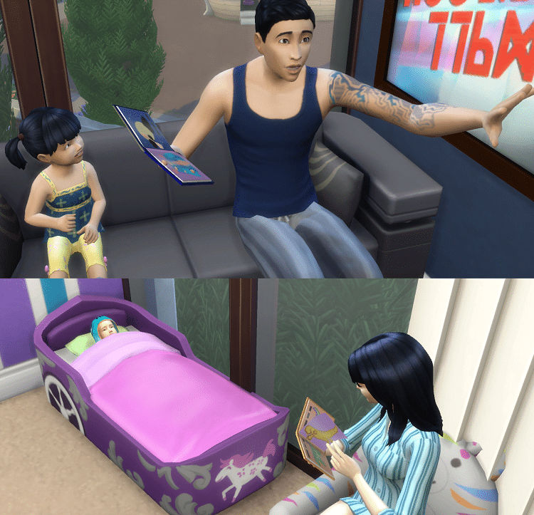 Zoom sur l'arrivée des bambins chez Les Sims 4