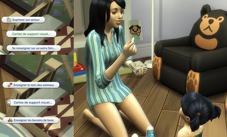, Zoom sur l'arrivée des bambins chez Les Sims 4