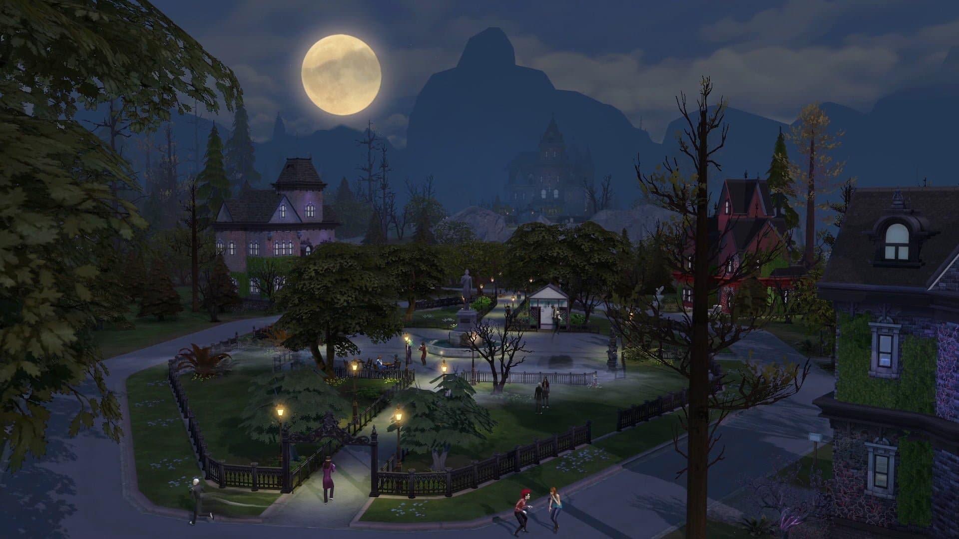 Les Sims 4 Vampires est sorti