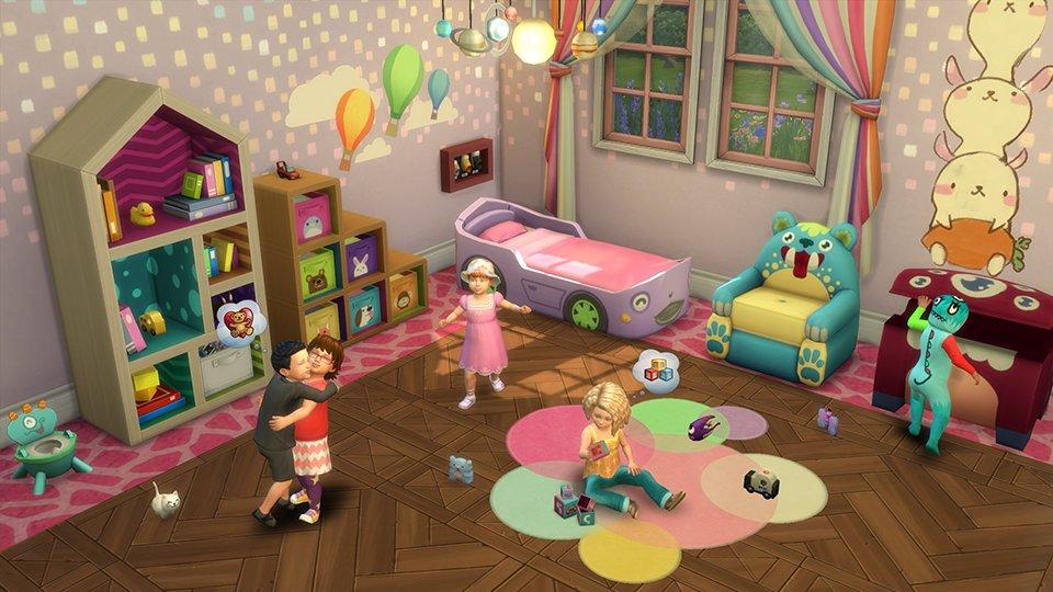 Les événements sociaux dans Les Sims 4