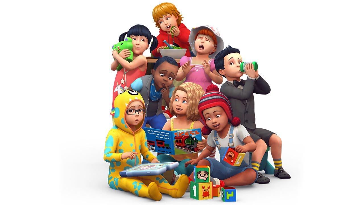 Tchat Les Sims 4 Bambins en replay