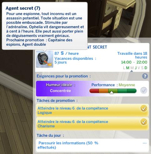 Zoom sur la carrière d'agents secrets