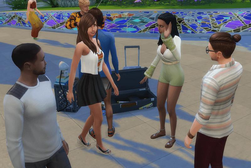 Réseaux sociaux Sims 4 Vie Citadine
