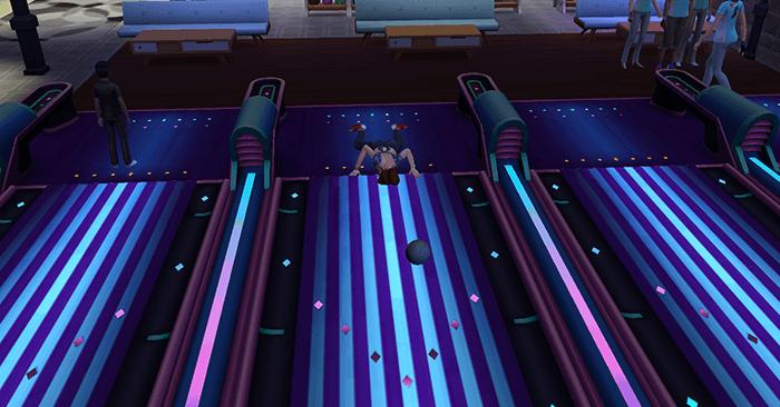 Piste bowling sims 4