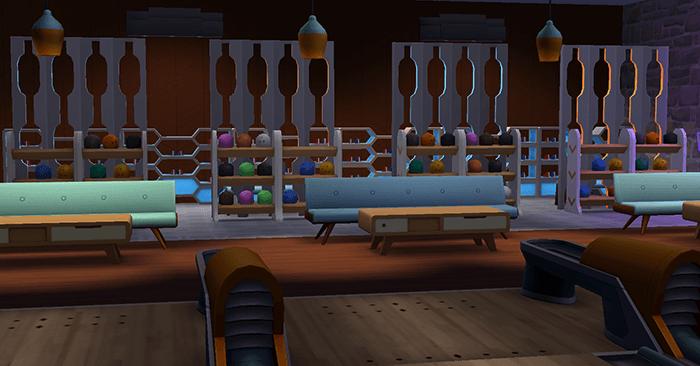 Terrain bowling sims 4