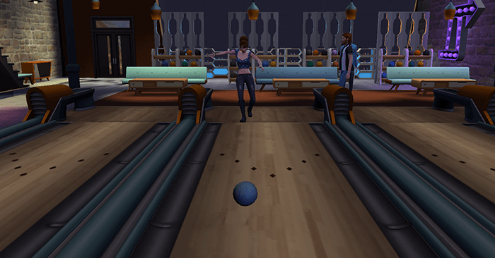 Bowling sims 4
