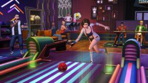 Test Les Sims 4 Soirée Bowling