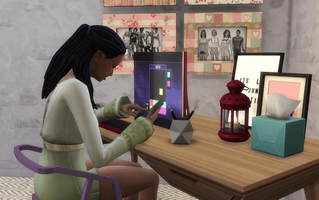 Réseau social Sims 4