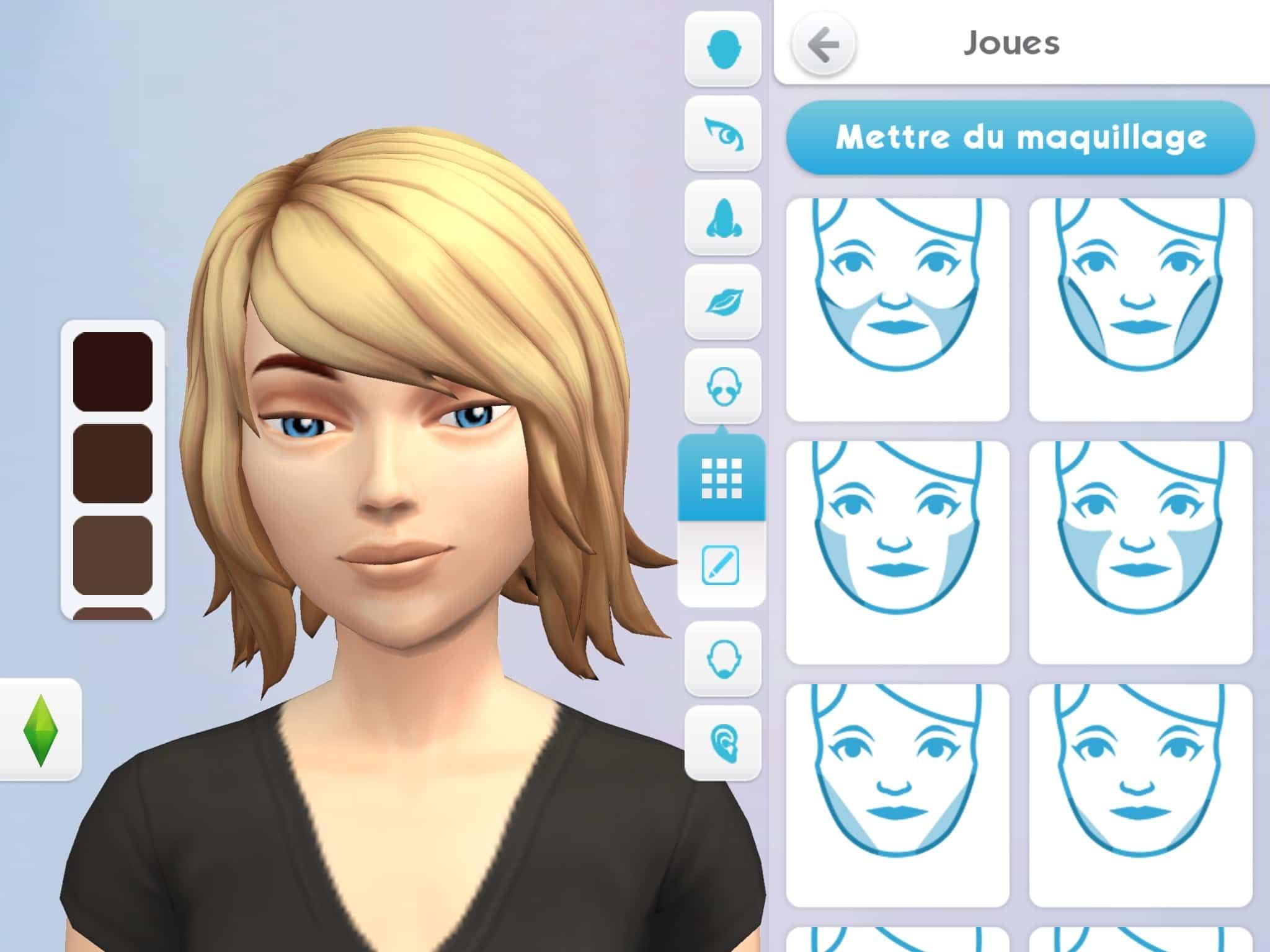 Créer Un Sims Les Sims Mobile