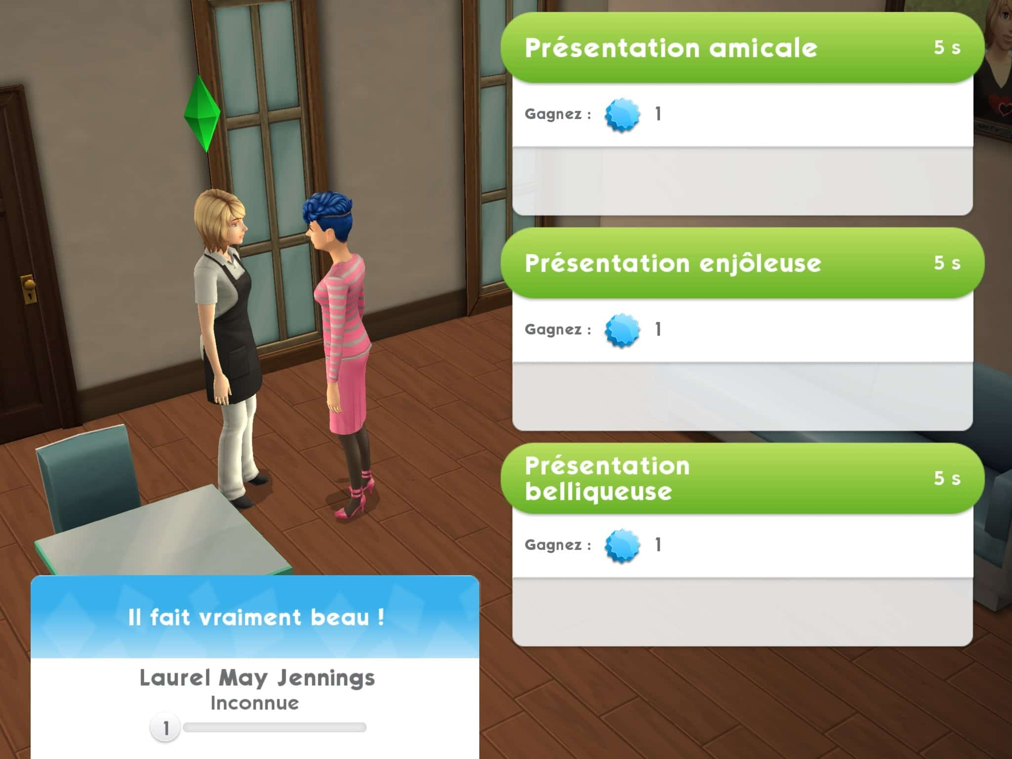 Interaction Sims Mobile