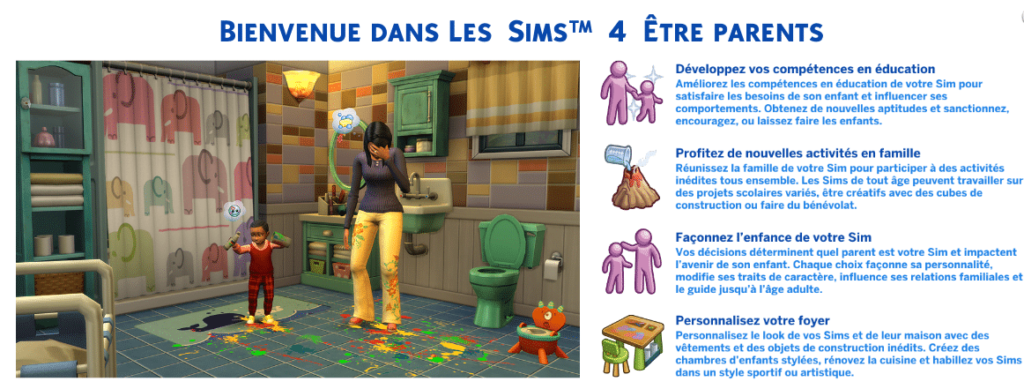 Test Les Sims 4 Etre Parents