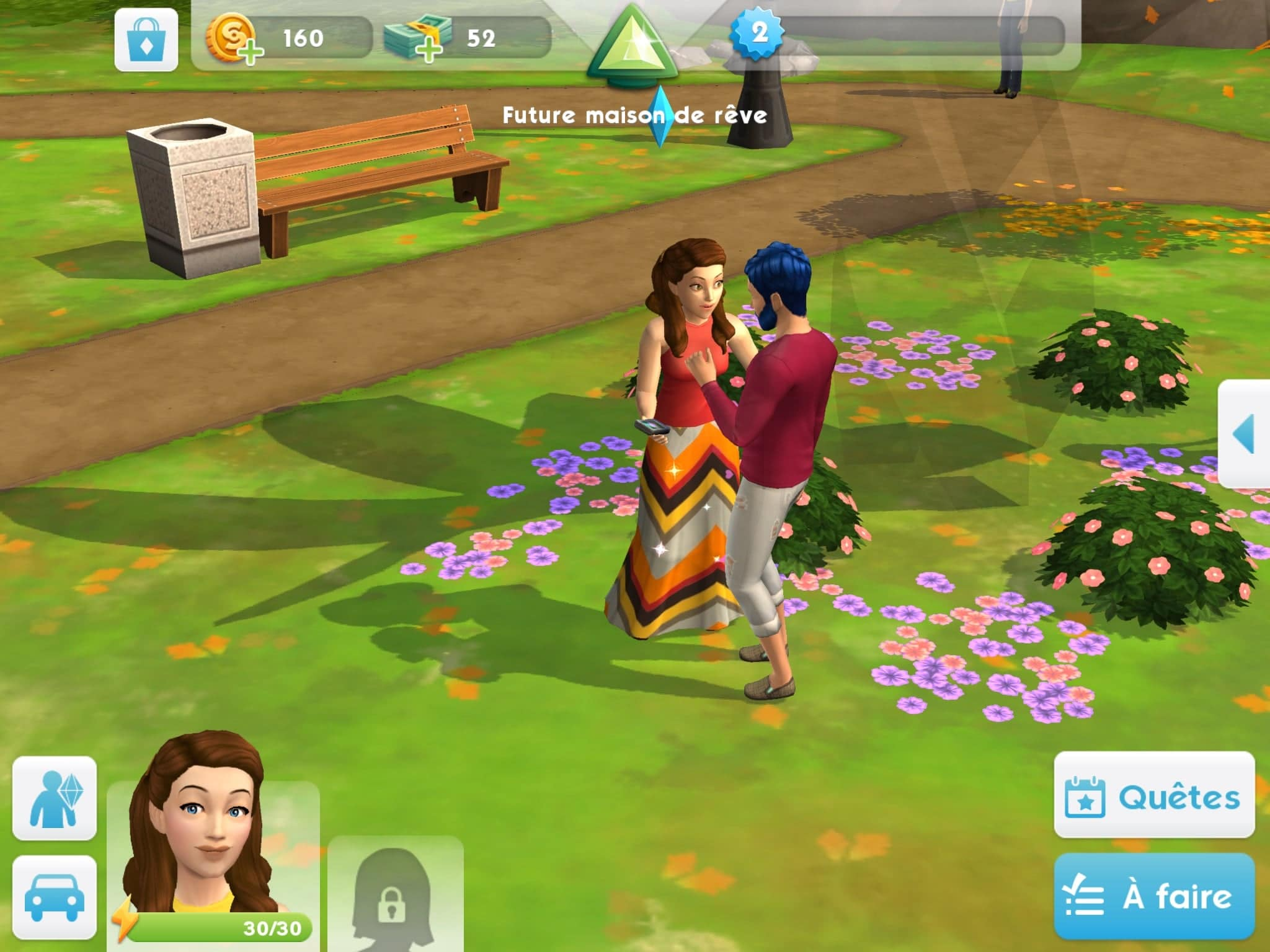 Amis Les Sims Mobile