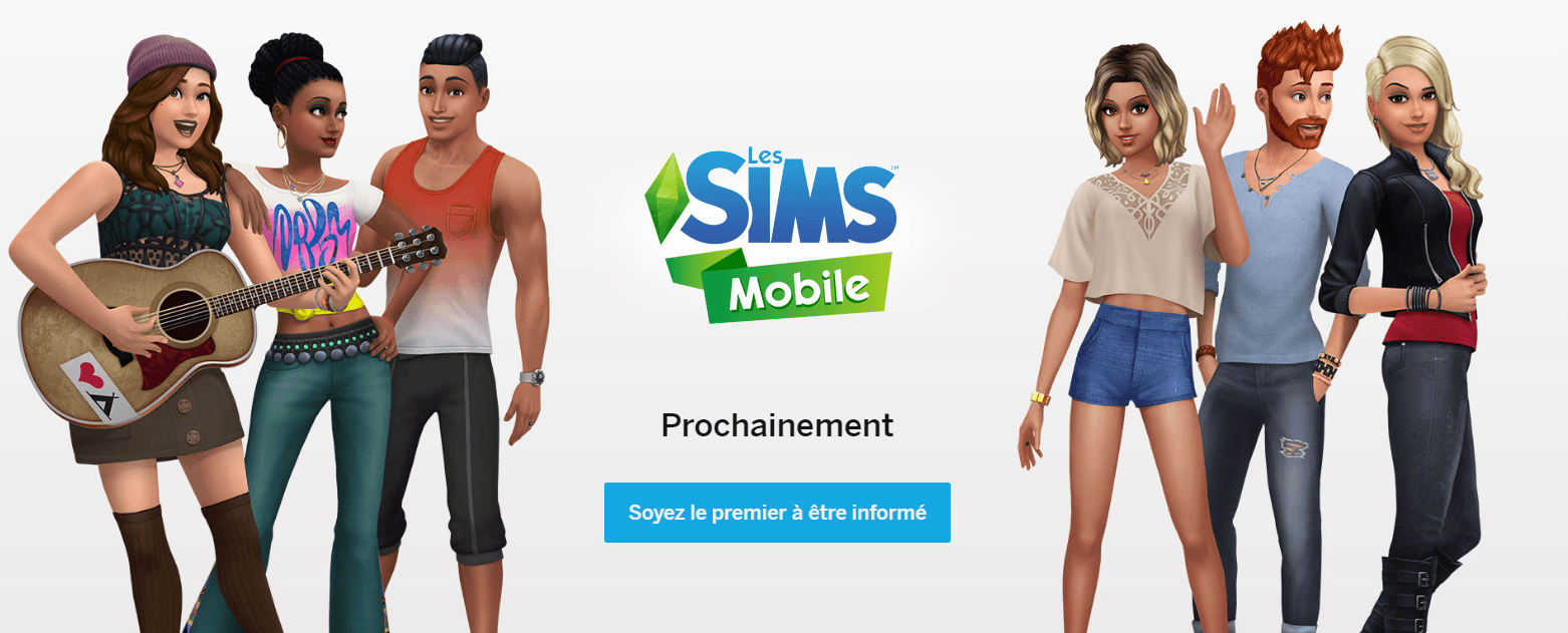 Les Sims Mobile Capture