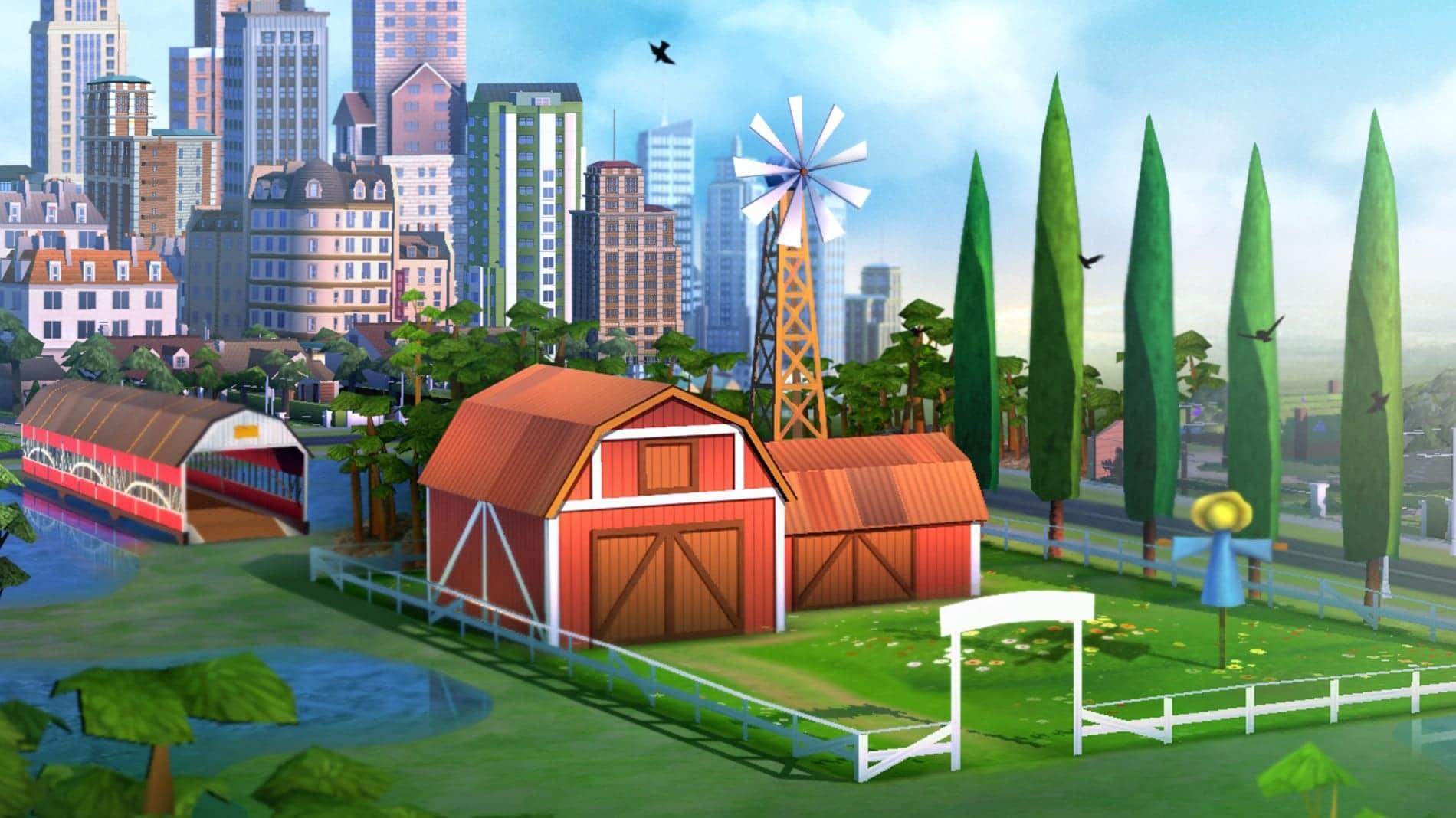 La campagne arrive dans Simcity Buildit