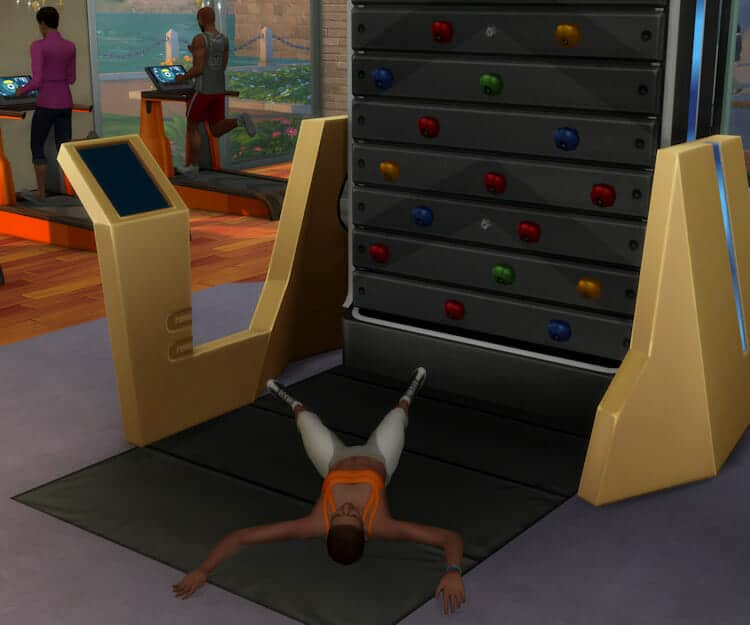 Escalade Sims 4 Fitness
