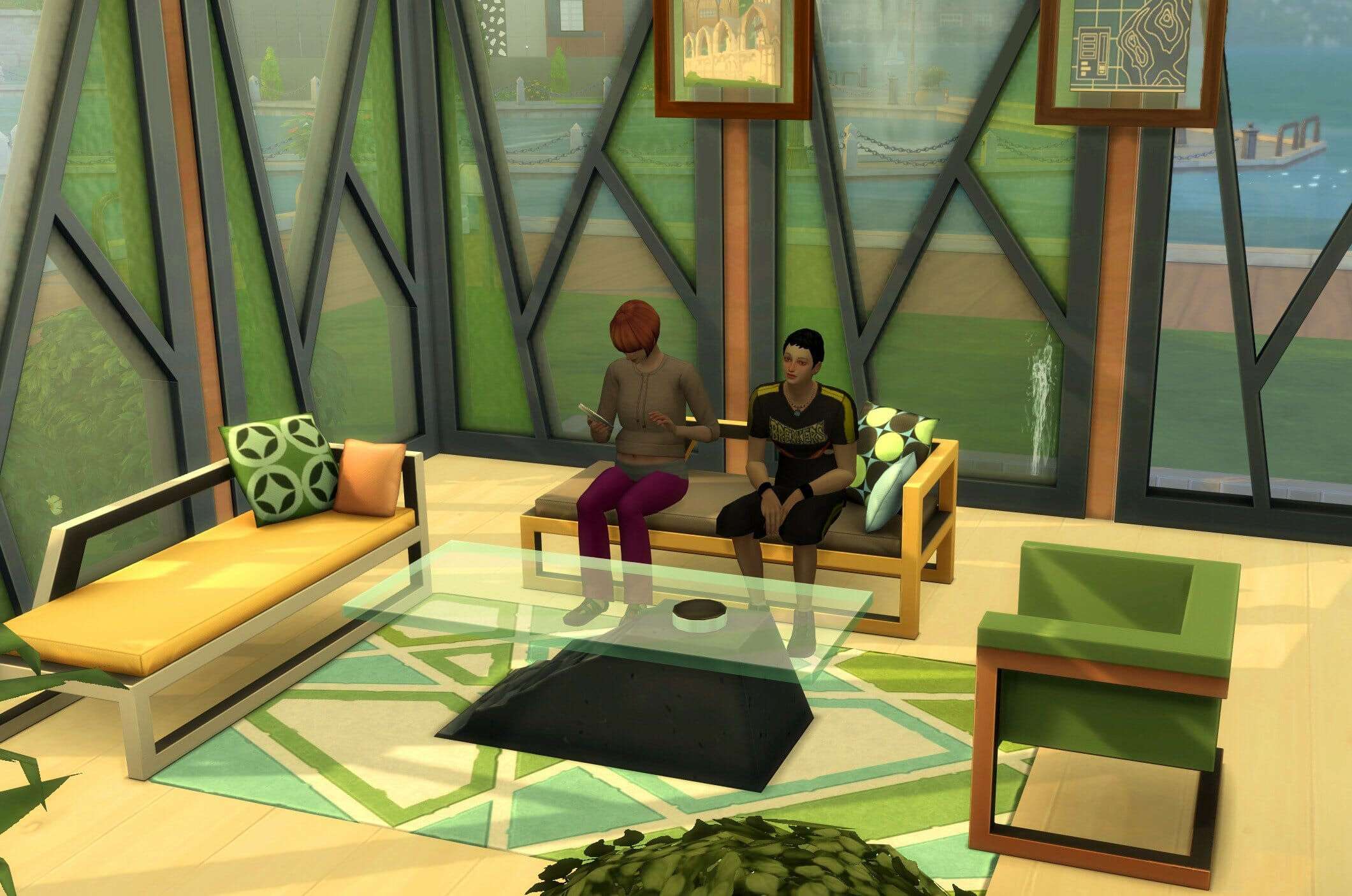 Objets sims 4 fitness