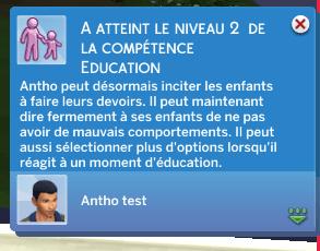 Zoom sur la compétence éducation
